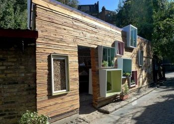 Sill to Sill, Upcycled Architecture