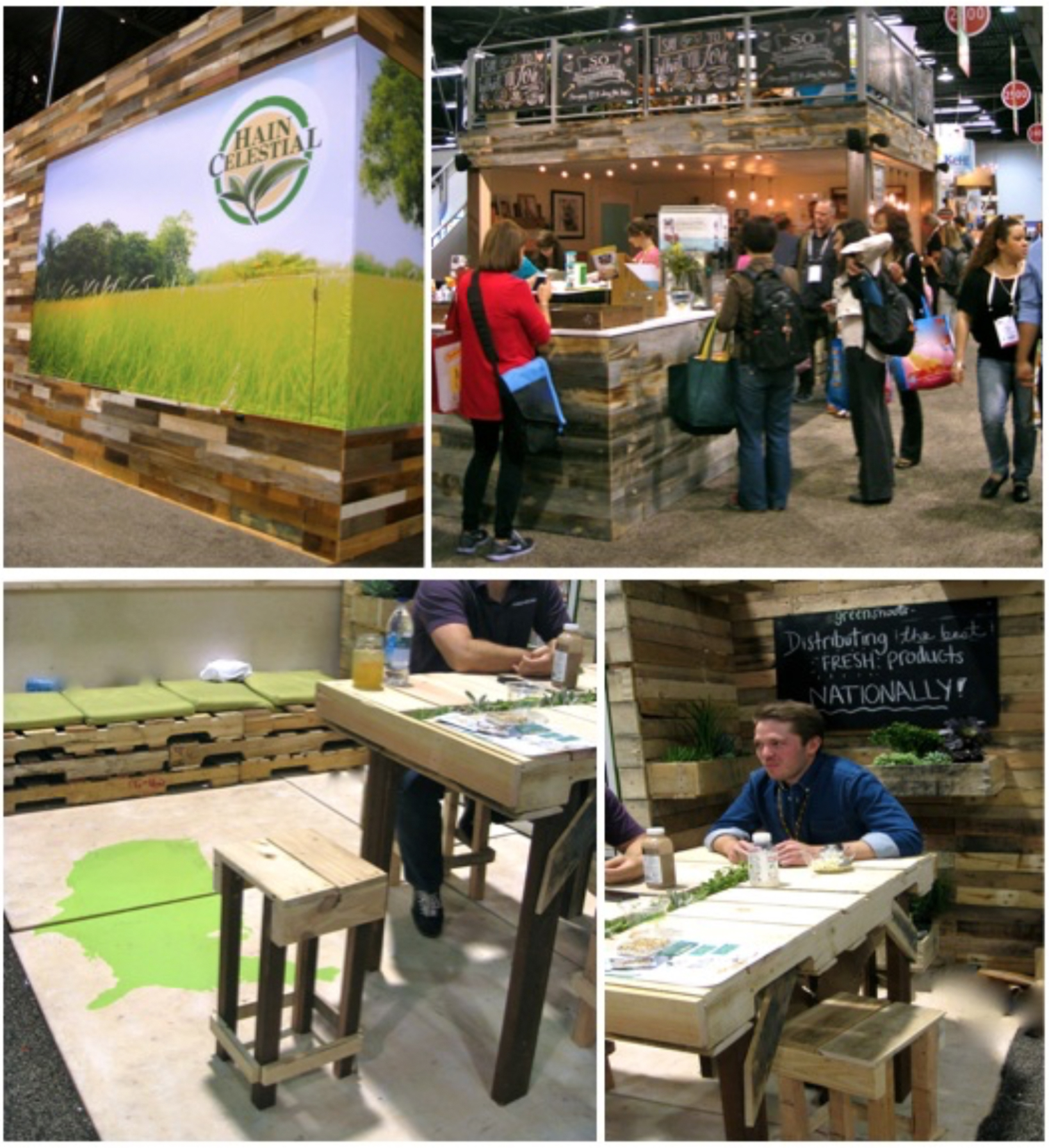 Eco Friendly Booth Design Ideas